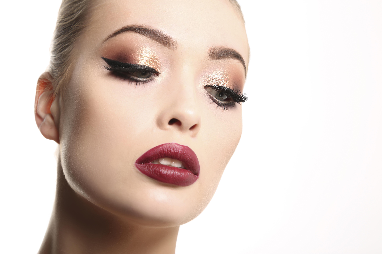 Makeup done at mac